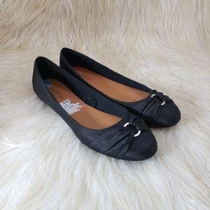 Seychelles Black Ballet Flats Size 8.5
